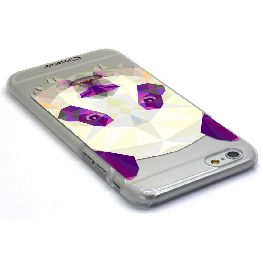 Photo réelle de Coque Crystal iPhone 6 Extra Fine Polygon Animals - Panda