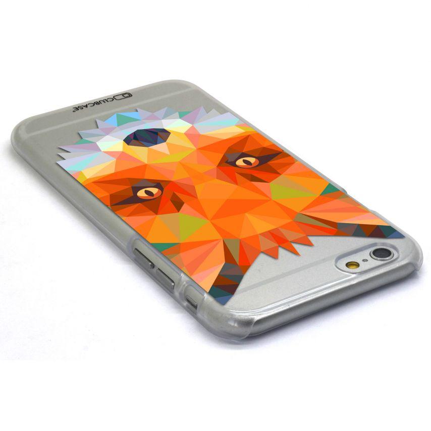 Photo réelle de Coque Crystal iPhone 6 Extra Fine Polygon Animals - Renard
