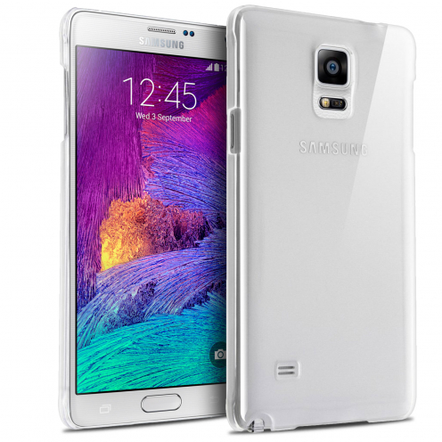Visuel unique de Coque Samsung Galaxy Note 4 Crystal Extra Fine Transparente