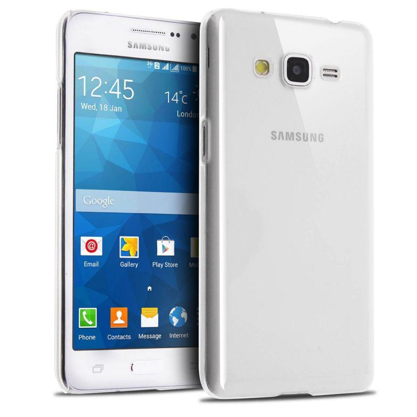 Visuel supplémentaire de Coque Samsung Galaxy Grand Prime Crystal Extra Fine Transparente