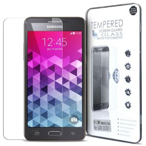 Vue détaillée de Protection d'écran Verre trempé Samsung Galaxy Grand Prime - 9H Glass Pro+ HD 0.33mm 2.5D