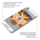 Visuel unique de Coque Crystal iPhone 5/5S Extra Fine Polygon Animals - Hibou