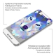 Visuel unique de Coque Crystal iPhone 5/5S Extra Fine Polygon Animals - Loup