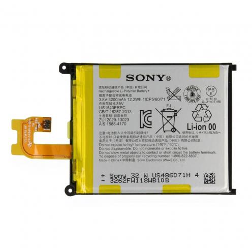 Zoom sur Batterie d'Origine Sony LIS1543ERPC Pour Xperia Z2 D6503 (3200 mAh)