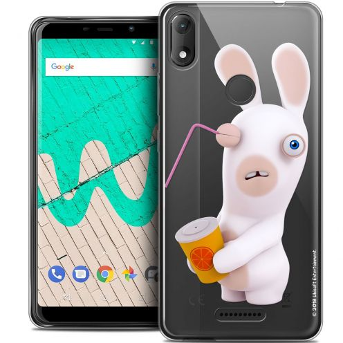 """Coque Gel Wiko View MAX (6"""") Extra Fine Lapins Crétins™ - Soda Crétin"""