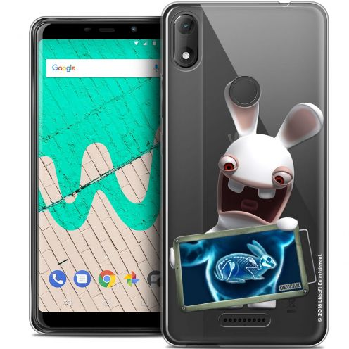 """Coque Gel Wiko View MAX (6"""") Extra Fine Lapins Crétins™ - X Ray Crétin"""