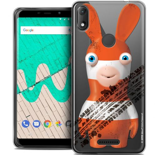 """Coque Gel Wiko View MAX (6"""") Extra Fine Lapins Crétins™ - On the Road"""