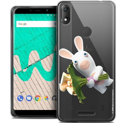 """Coque Gel Wiko View MAX (6"""") Extra Fine Lapins Crétins™ - Bouquet Crétin"""