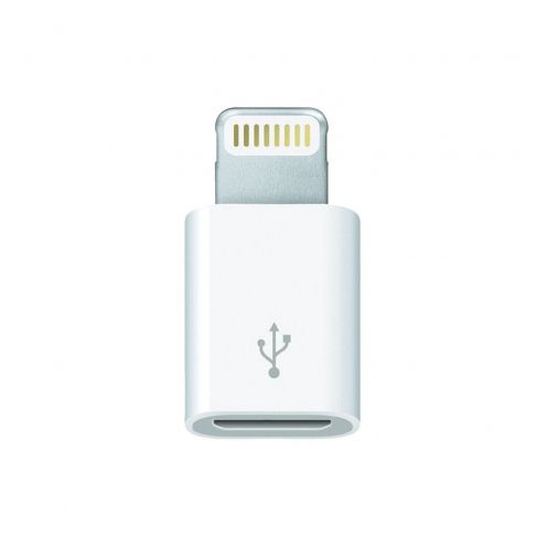 Visuel unique de Adaptateur micro USB vers Lightning Origine Apple MD820ZM/A