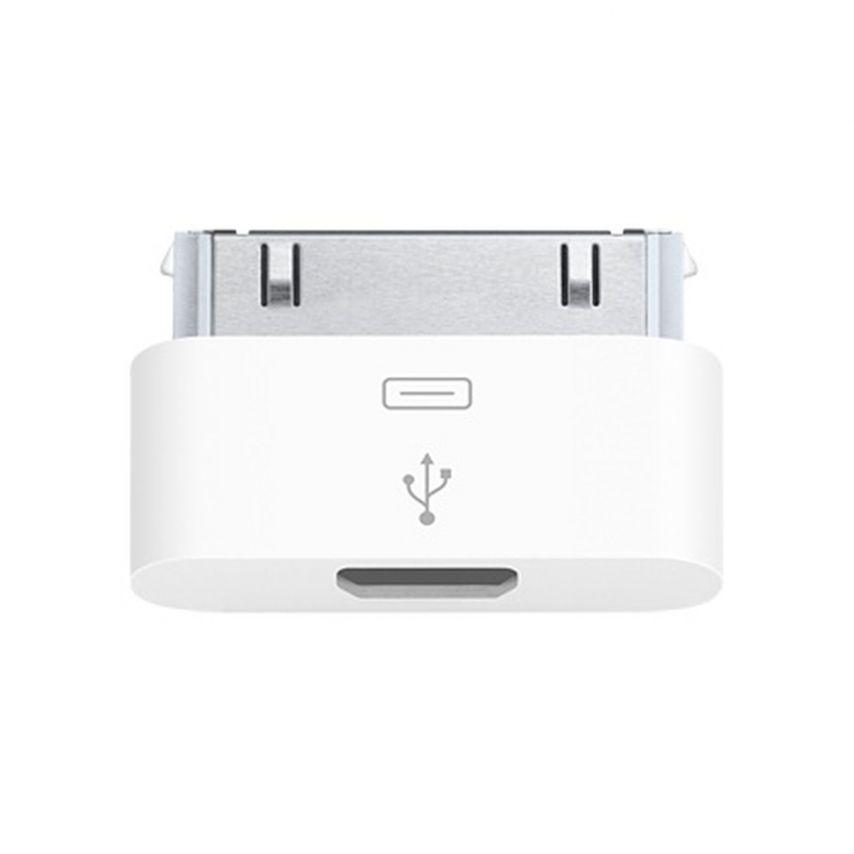 Visuel unique de Adaptateur micro USB vers 30 Broches Origine Apple MD099