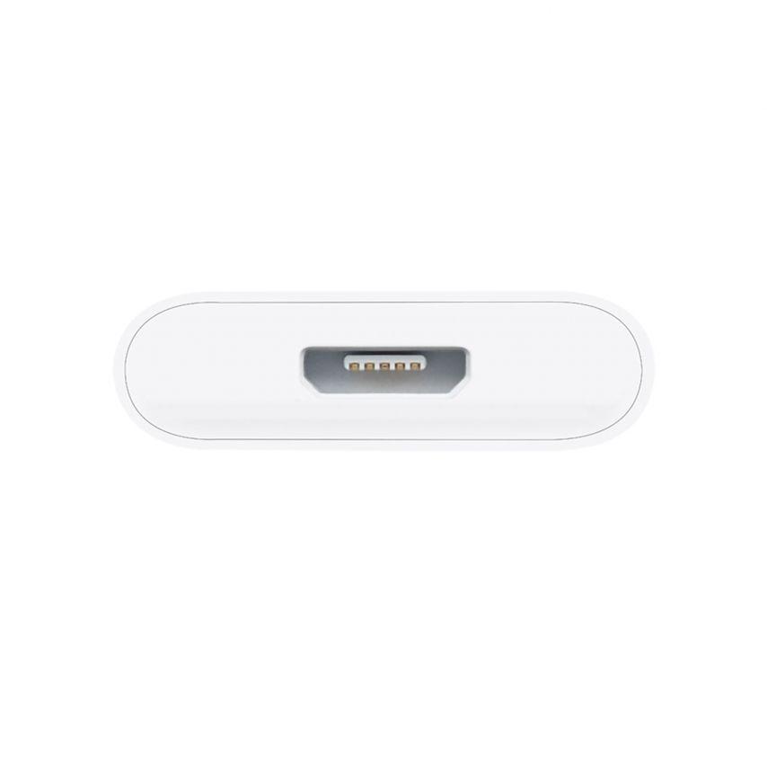 Visuel supplémentaire de Adaptateur micro USB vers 30 Broches Origine Apple MD099