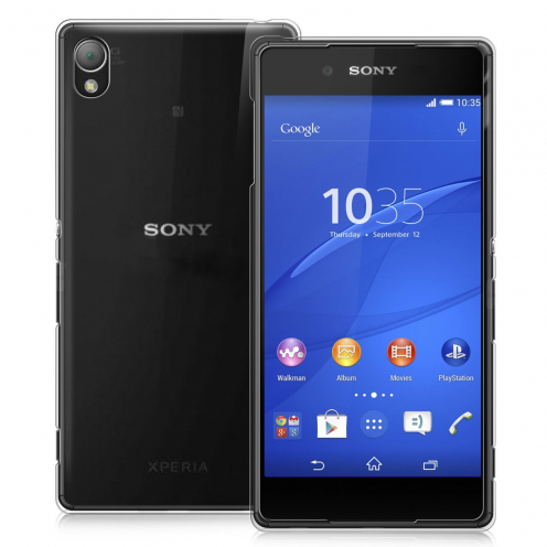 Coque Ultra Fine 0.5mm Souple Crystal Clear View pour Sony Xperia Z3+ / Plus
