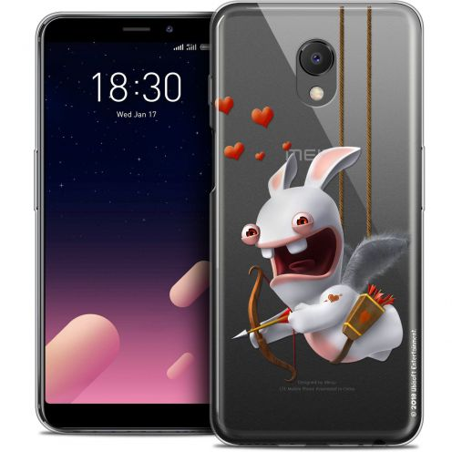 """Coque Gel Meizu M6s (5.7"""") Extra Fine Lapins Crétins™ - Flying Cupidon"""