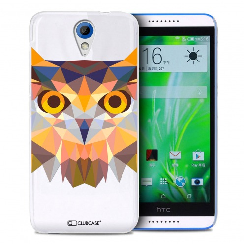 Zoom sur Coque Crystal Desire 620 Extra Fine Polygon Animals - Hibou