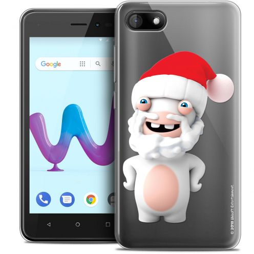 """Coque Gel Wiko Sunny 3 (5"""") Extra Fine Lapins Crétins™ - Lapin Noël"""