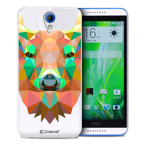 Zoom sur Coque Crystal Desire 620 Extra Fine Polygon Animals - Cerf
