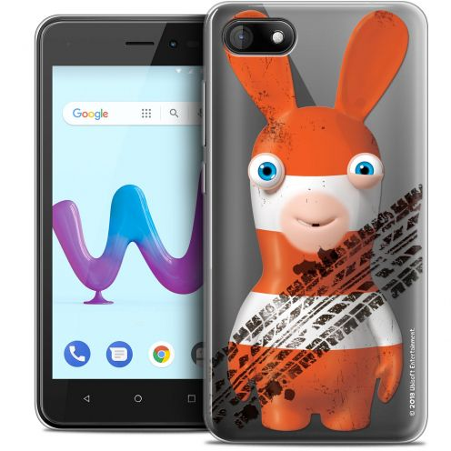 """Coque Gel Wiko Sunny 3 (5"""") Extra Fine Lapins Crétins™ - On the Road"""