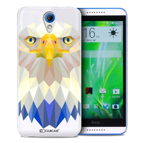 Zoom sur Coque Crystal Desire 620 Extra Fine Polygon Animals - Aigle