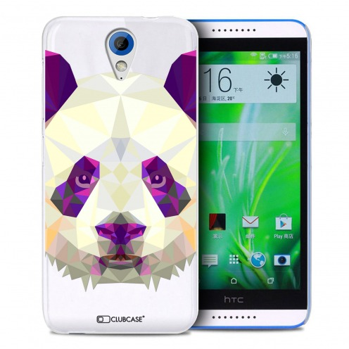 Zoom sur Coque Crystal Desire 620 Extra Fine Polygon Animals - Panda