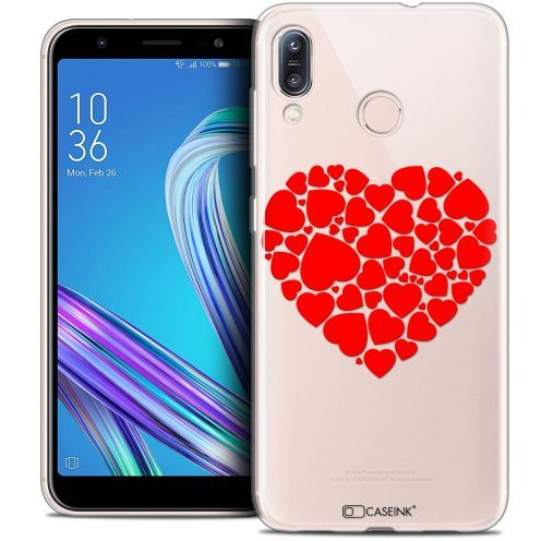 "Coque Crystal Gel Asus Zenfone Max (M1) ZB555KL (5.5"") Extra Fine Love - Coeur des Coeurs"
