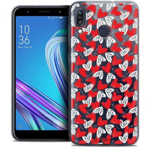 """Coque Crystal Gel Asus Zenfone Max (M1) ZB555KL (5.5"""") Extra Fine Love - With Love"""