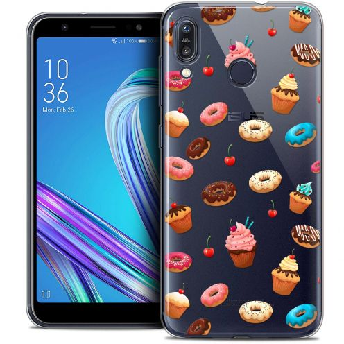 """Coque Crystal Gel Asus Zenfone Max (M1) ZB555KL (5.5"""") Extra Fine Foodie - Donuts"""