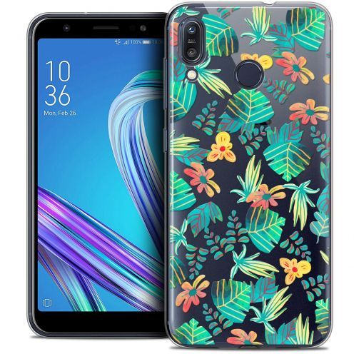 """Coque Crystal Gel Asus Zenfone Max (M1) ZB555KL (5.5"""") Extra Fine Spring - Tropical"""