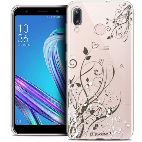 """Coque Crystal Gel Asus Zenfone Max (M1) ZB555KL (5.5"""") Extra Fine Love - Hearts Flowers"""