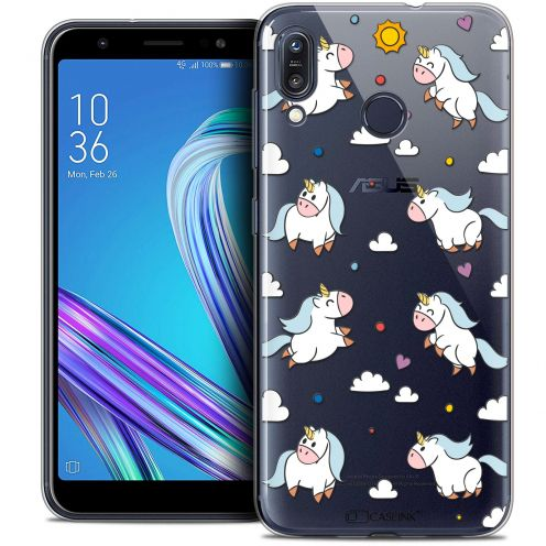 """Coque Crystal Gel Asus Zenfone Max (M1) ZB555KL (5.5"""") Extra Fine Fantasia - Licorne In the Sky"""