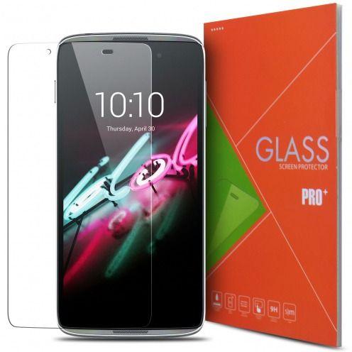 Vue détaillée de Protection d'écran Verre trempé Alcatel Touch Idol 3 (4.7) - 9H Glass Pro+ HD 0.33mm 2.5D