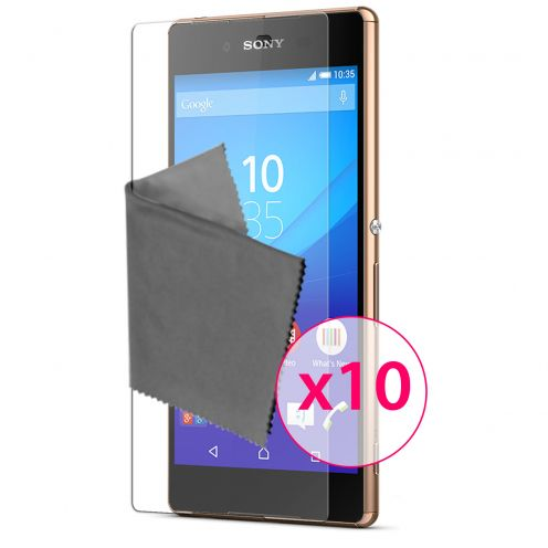 Zoom sur Films de protection Sony Xperia Z3+/Plus Clubcase® 3H Ultra Clear HD Lot de 10