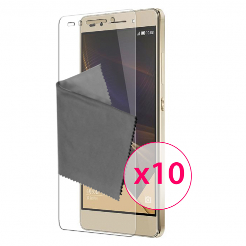 Films de protection Huawei Honor 7 Clubcase® 3H Ultra Clear HD Lot de 10