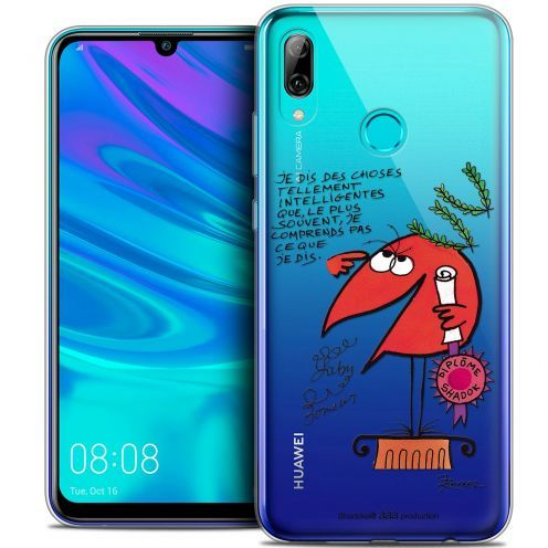 "Coque Gel Huawei P Smart 2019 (6.21"") Extra Fine Les Shadoks® - Intelligent"