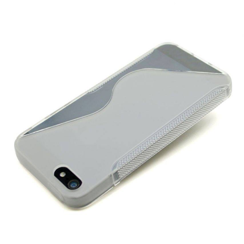 Visuel supplémentaire de Coque iPhone 5 Tpu Basics SLine Transparente