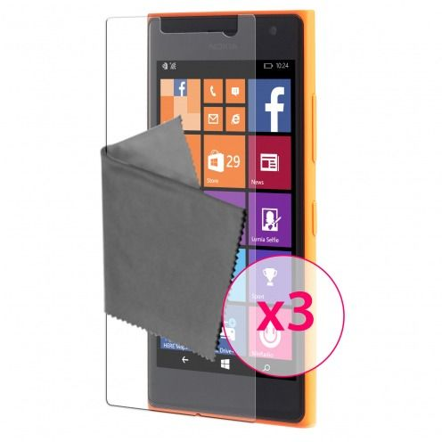 Zoom sur Films de protection Microsoft Lumia 730/735 Clubcase® 3H Ultra Clear HD Lot de 3