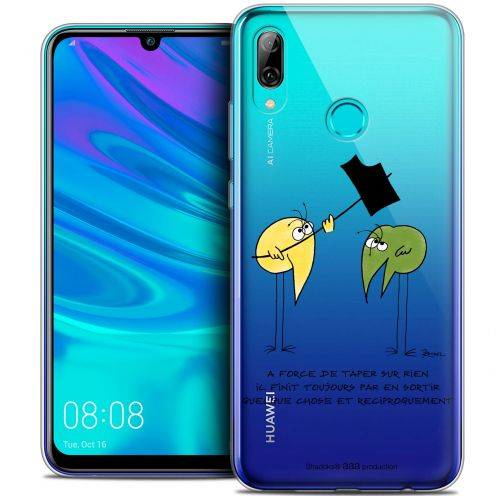 "Coque Gel Huawei P Smart 2019 (6.21"") Extra Fine Les Shadoks® - A Force"