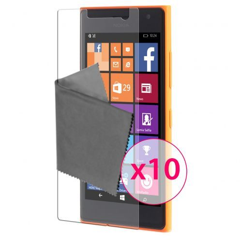Zoom sur Films de protection Microsoft Lumia 730/735 Clubcase® 3H Ultra Clear HD Lot de 10