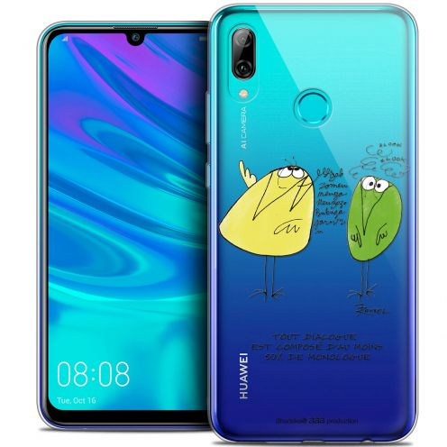 "Coque Gel Huawei P Smart 2019 (6.21"") Extra Fine Les Shadoks® - Le Dialogue"