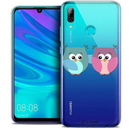 """Coque Crystal Gel Huawei P Smart 2019 (6.21"""") Extra Fine Love - Hibous à deux"""