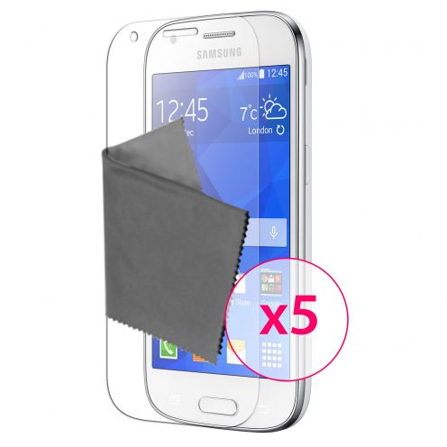Zoom sur Films de protection Samsung Galaxy Ace 4 Clubcase® 3H Ultra Clear HD Lot de 5