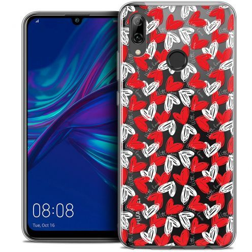 """Coque Crystal Gel Huawei P Smart 2019 (6.21"""") Extra Fine Love - With Love"""