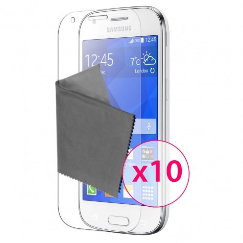 Zoom sur Films de protection Samsung Galaxy Ace 4 Clubcase® 3H Ultra Clear HD Lot de 10