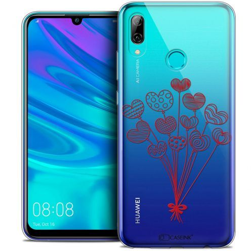 "Coque Crystal Gel Huawei P Smart 2019 (6.21"") Extra Fine Love - Ballons d'amour"