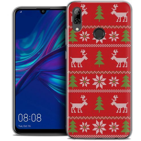 "Coque Crystal Gel Huawei P Smart 2019 (6.21"") Extra Fine Noël 2017 - Couture Rouge"