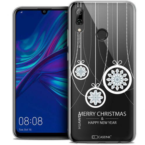 "Coque Crystal Gel Huawei P Smart 2019 (6.21"") Extra Fine Noël 2017 - Christmas Balls"