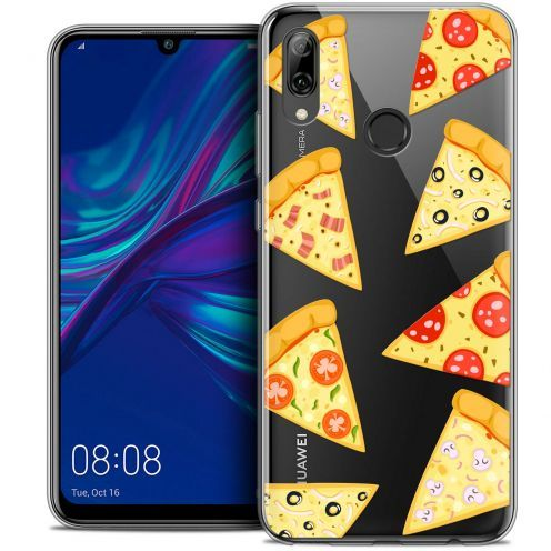 "Coque Crystal Gel Huawei P Smart 2019 (6.21"") Extra Fine Foodie - Pizza"