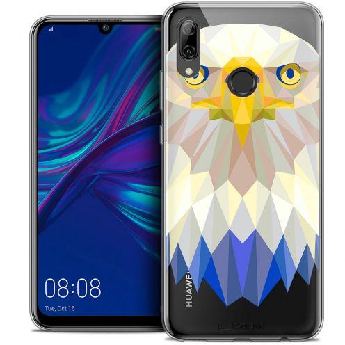 "Coque Crystal Gel Huawei P Smart 2019 (6.21"") Extra Fine Polygon Animals - Aigle"