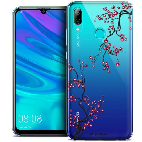 "Coque Crystal Gel Huawei P Smart 2019 (6.21"") Extra Fine Summer - Sakura"