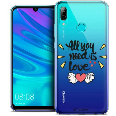 """Coque Crystal Gel Huawei P Smart 2019 (6.21"""") Extra Fine Love - All U Need Is"""