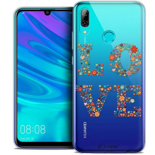 "Coque Crystal Gel Huawei P Smart 2019 (6.21"") Extra Fine Summer - Love Flowers"